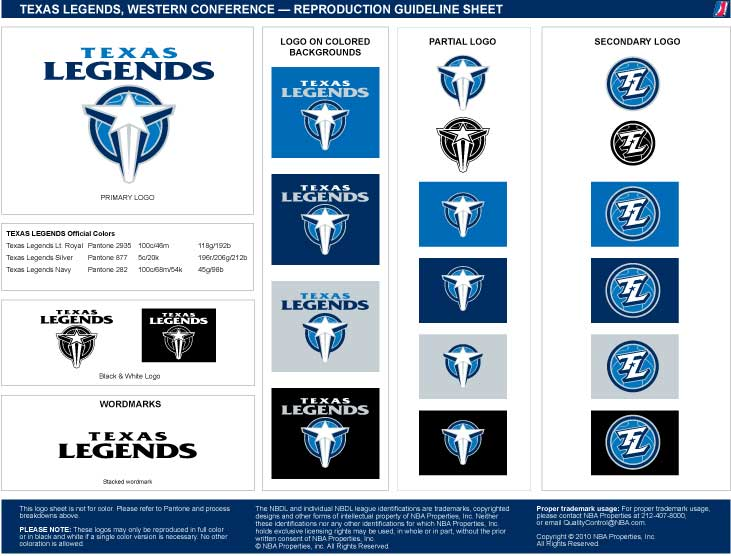Texas Legends Reproduction Guideline Sheet: Texas Coyote 2014 Reference Sheet At Alzheimers-prions.com