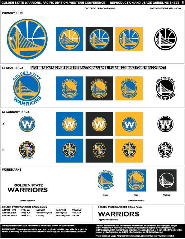 Golden State Warriors Colors Hex Rgb And Cmyk Team Color Codes