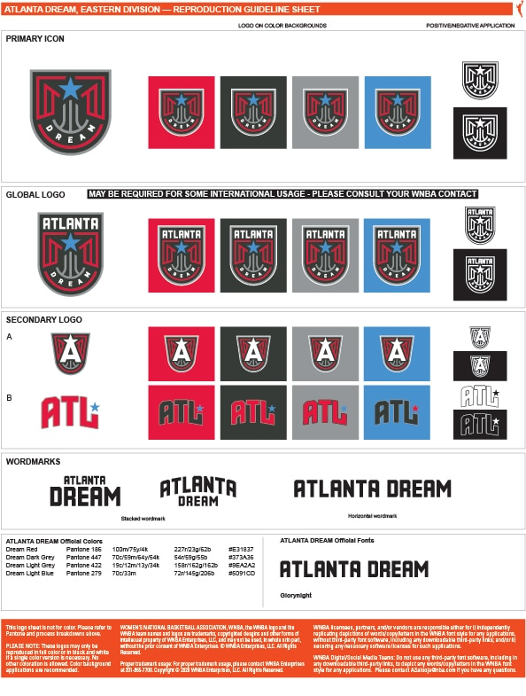 WNBA Team Color Codes Archives - Page 2 of 3 - Team Color Codes